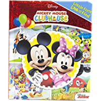 Mickey Mouse Clubhouse - My Little First Look and Find Activity Book - PI Kids