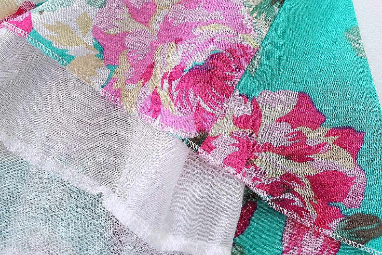 Barro Reino las niñas niñas Barro playa floral las Sling Vestido ...