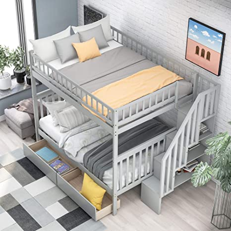 Bunk Beds With Two Full Size Beds Www Macj Com Br