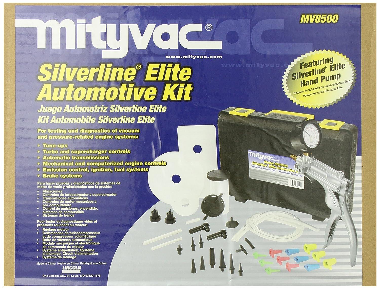 amazon com mityvac mitmv8500 silverline elite automotive vacuum rh amazon com Mityvac Hand Pump Mityvac Parts