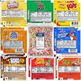 Kellogg's & General Mills Cereal Bowl Variety - Apple Jacks, Mini Wheats, Corn Pops, Special K, Frosted Flakes, Coco…