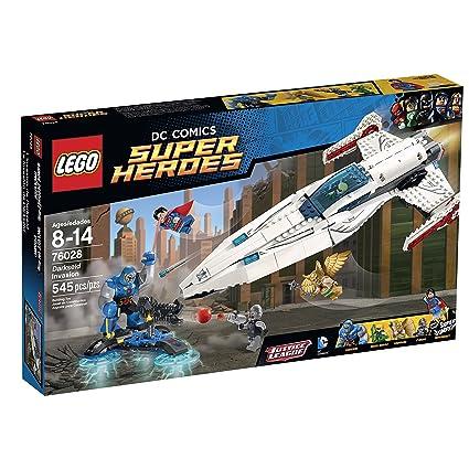 Amazoncom Lego Superheroes Darkseid Invasion Toys Games