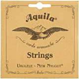 Aquila New Nylgut AQ-15 Tenor Ukulele Strings - Wound Low G - 1 Set of 4