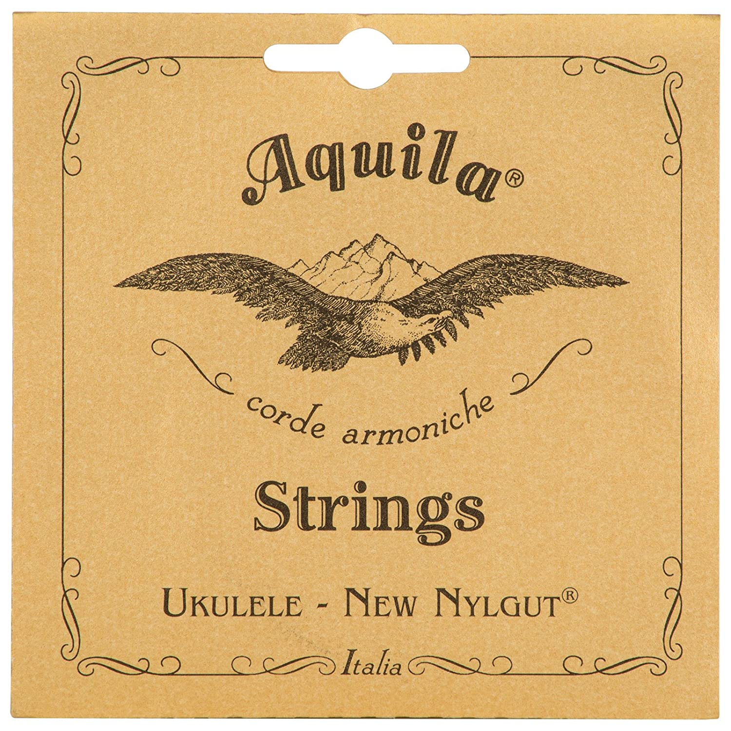 Aquila New Nylgut AQ-4 Soprano Ukulele Strings - High G - Set of 4