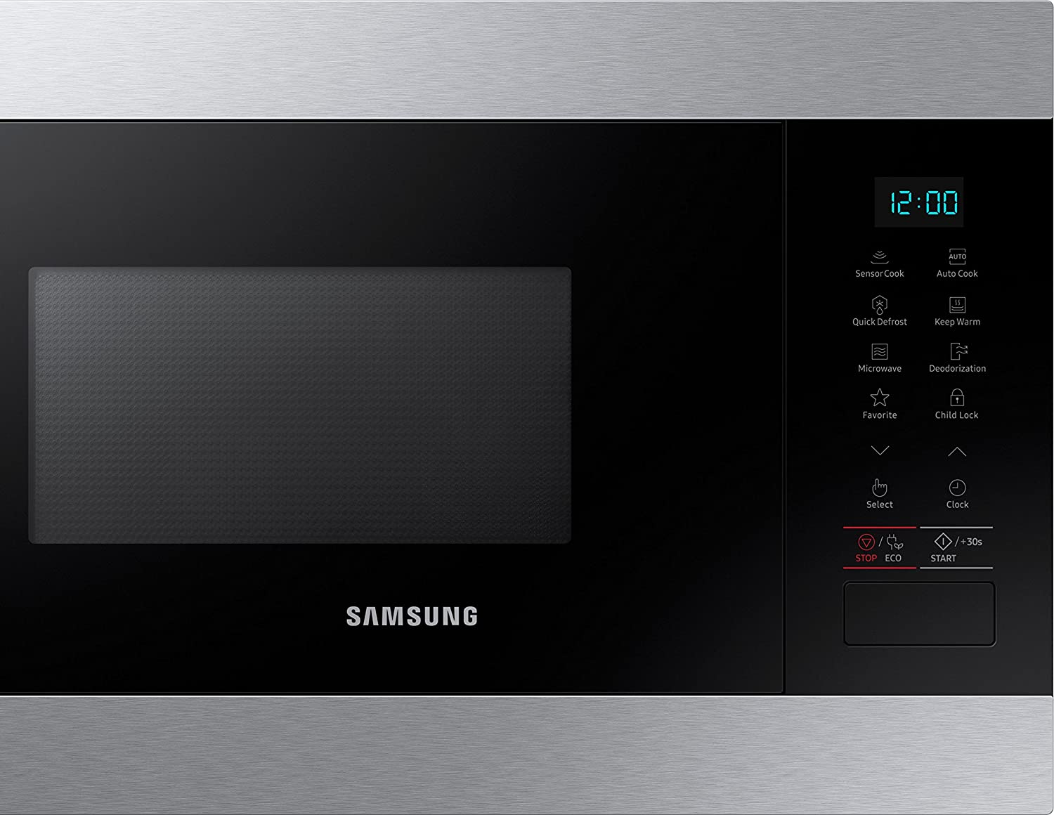 Samsung MS22M8074AT Integrado Solo - Microondas (Integrado, Solo ...
