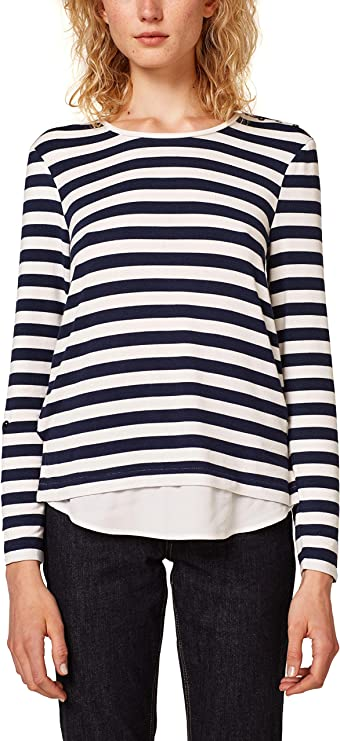 ESPRIT Collection Camisa Manga Larga para Mujer