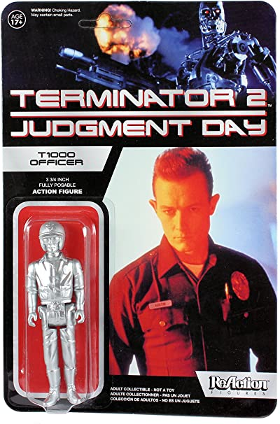 ReAction Figures Terminator 2 Judgment Day T1000 Officer figure Funko