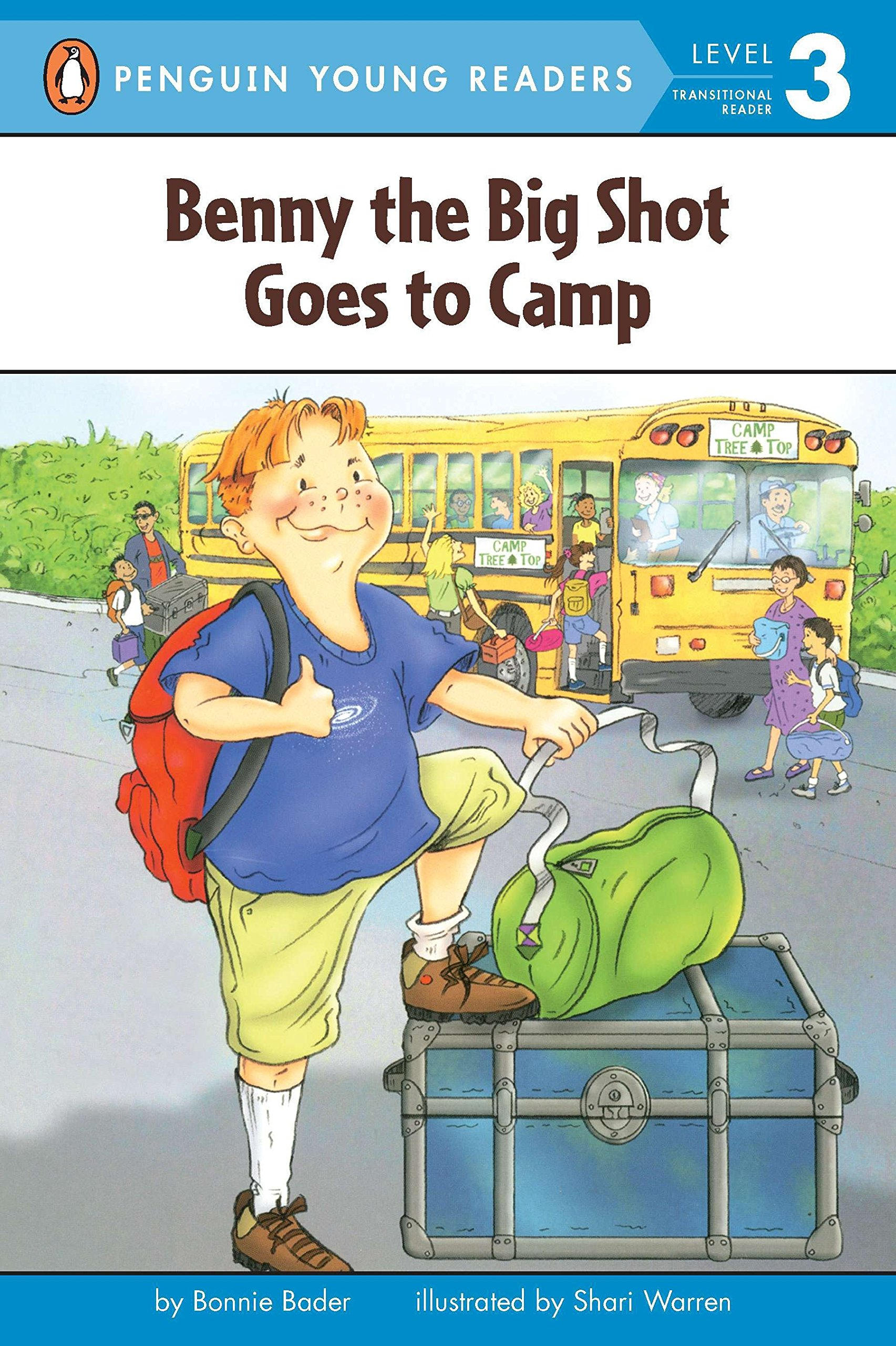 Amazon.com: Benny the Big Shot Goes to Camp (Penguin Young Readers, Level 3)  (9780448428949): Bonnie Bader, Shari Warren: Books