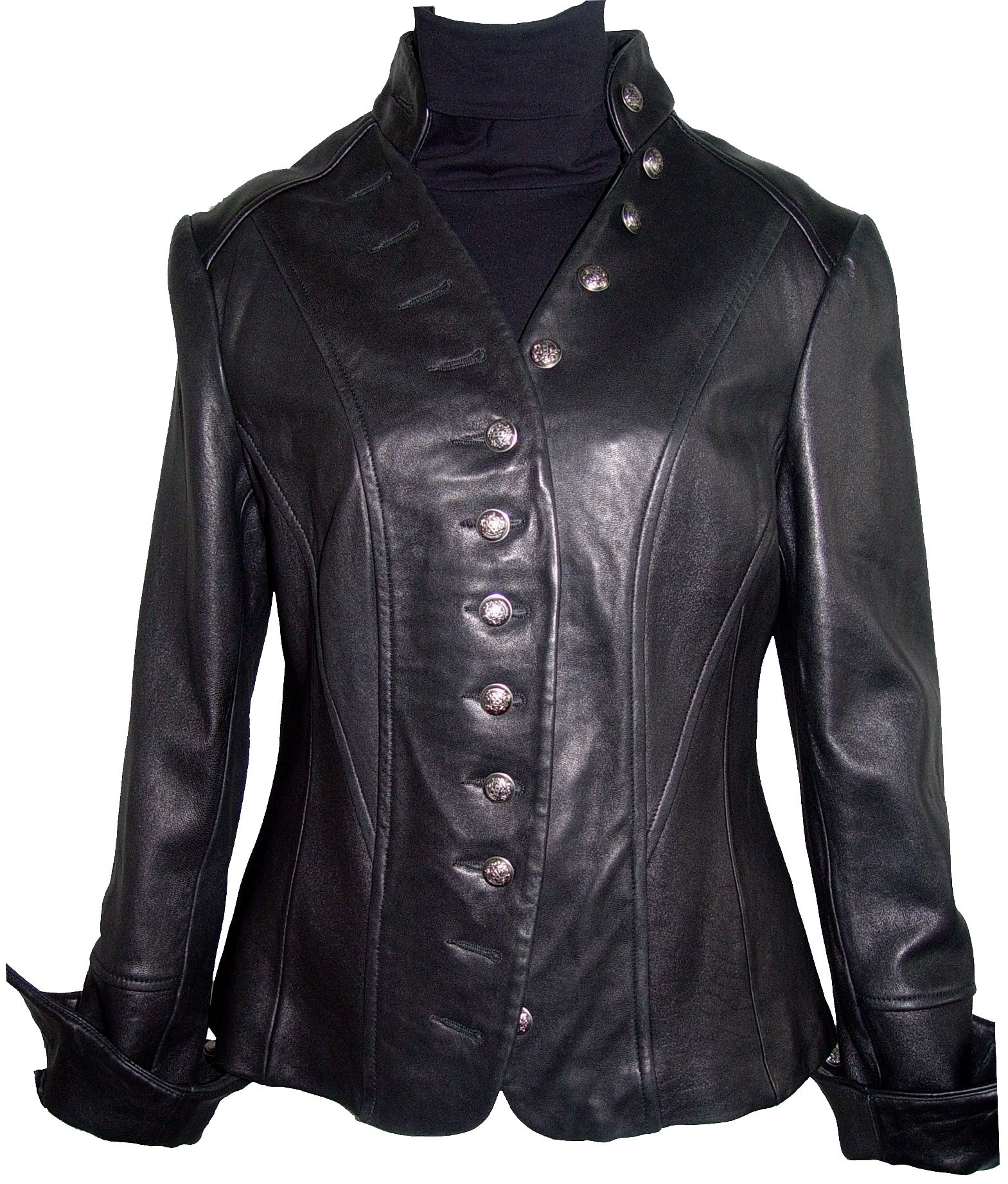 Johnny 4003 Best Cool Leather Blazer Jackets Fitted Business Clothing Soft Lamb by Johnnyblue