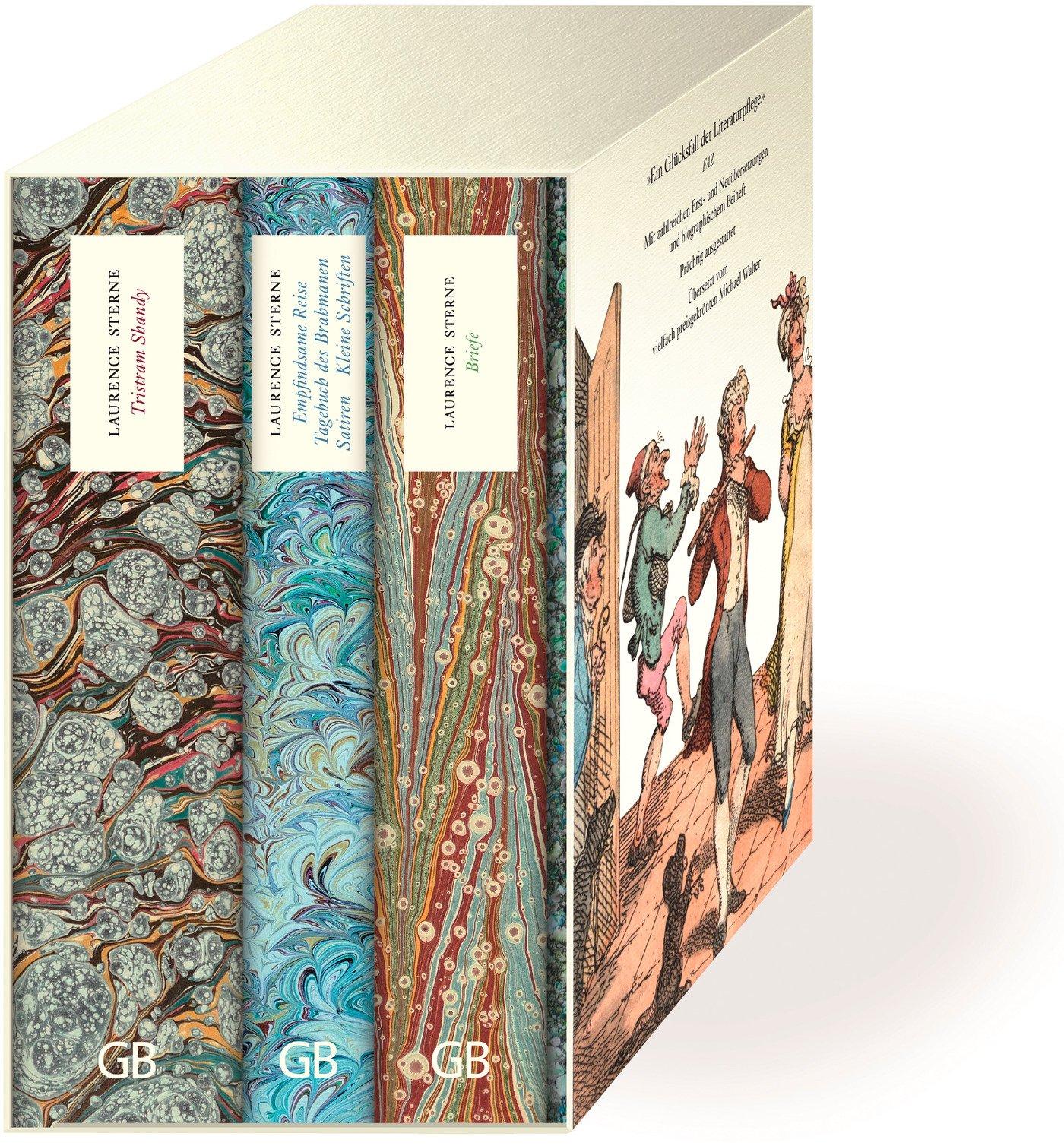 Werkausgabe: Tristram Shandy - Empfindsame Reise, Tagebuch des Brahmanen, Satiren, kleine Schriften - Briefe