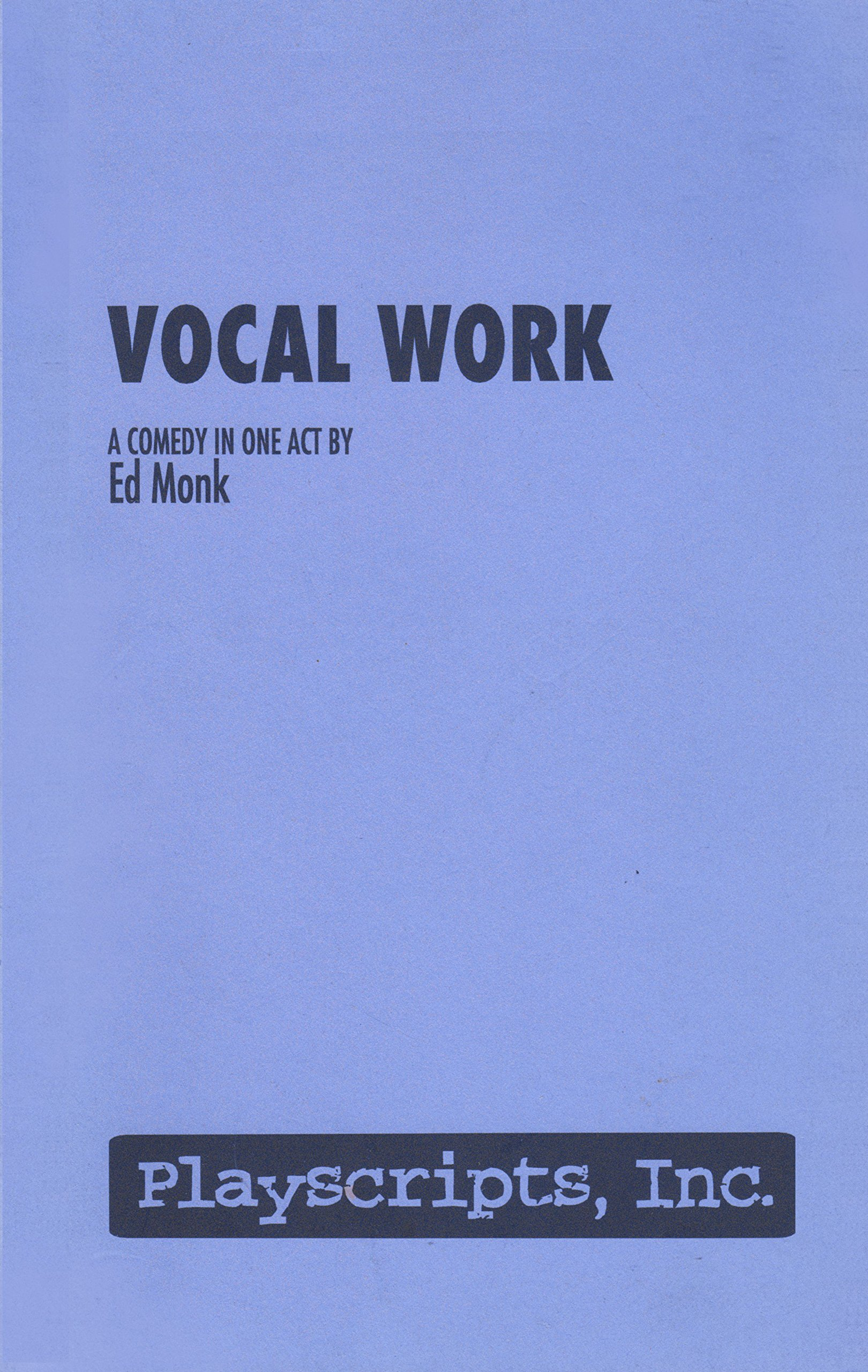 Vocal Work pdf