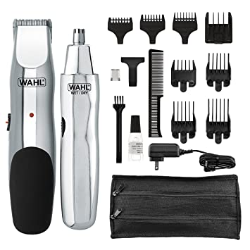 Amazon Com Wahl Groomsman Rechargeable Beard Trimmer For Beard