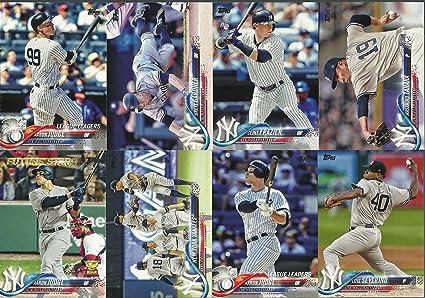 various colors 30aad 96d0f 2018 Topps Series 1 & 2 New York Yankees Team Set 32 Cards Aaron Judge  Clint Frazier Masharo Tanaka Gary Sanchez