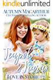 Teapots & Tiaras: A sweet and clean Christian opposites attract, enemies to love, plus size BBW heroine romance in…