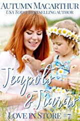 Teapots & Tiaras: A sweet and clean Christian opposites attract, enemies to love, plus size BBW heroine romance in London and Cambridge (Love In Store Book 7) Kindle Edition