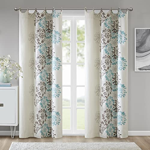 Madison Park Anaya Curtain Grommet Tops Thermal Insulated Window Panel