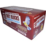 Suet To Go Wild Bird Blueberry and Raisin Suet Block, 300 g - Pack of 10