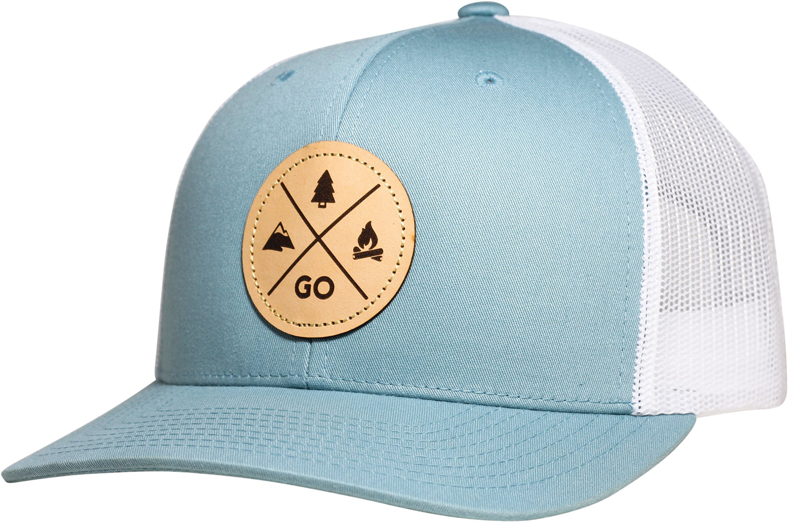 Galleon - Lindo Trucker Hat - GO Outdoors (Sky Blue) b0bb358a383