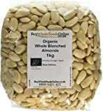Buy Whole Foods Organic Whole Blanched Almonds 1 Kg