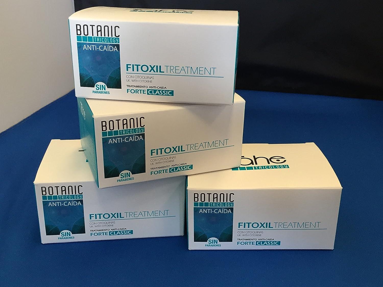 TRICOLOGY FITOXIL AMPOLLAS PARA CAIDA DEL CABELLO 20X10ML Programa AntiCaida Pak 4 cajas de 5 ampollas: Amazon.es: Belleza