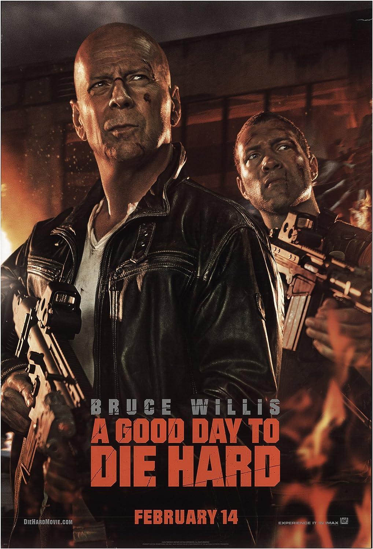 "A Good Day to Die Hard 2013 Authentic 27"" x 40"" Original Movie ..."