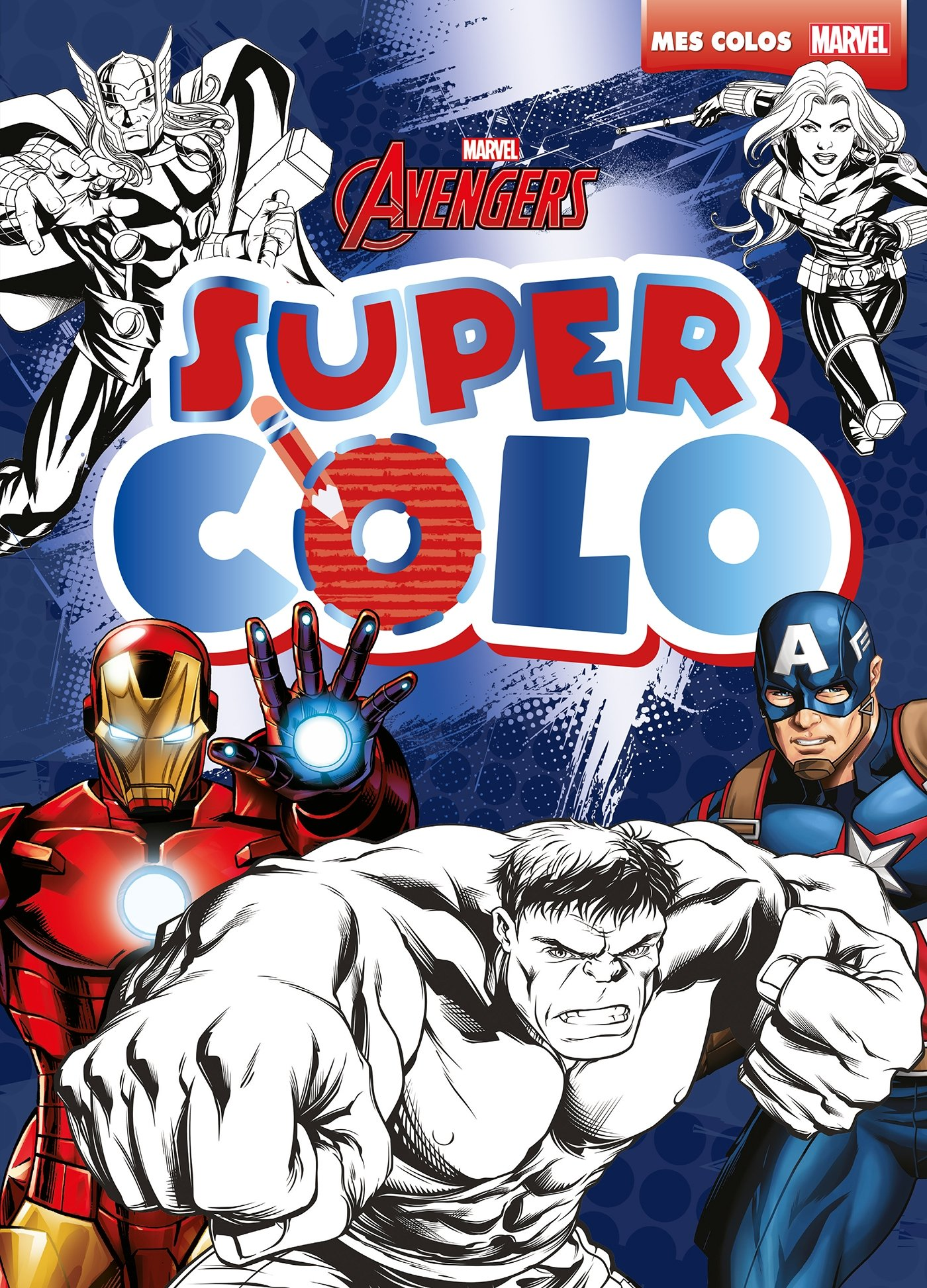 Avengers Assemble Marvel Super Colo Hjd Coloriages French