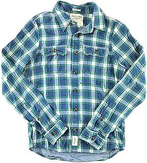 b4fdb3add3d Abercrombie   Fitch Women s Long Sleeve Woven Button Up Shirt X ...