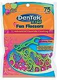 DenTek Fun Flossers for Kids, Wild Fruit, 75 Count