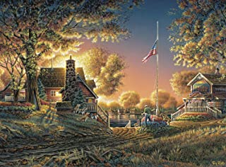 product image for Buffalo Games - Terry Redlin - Good Evening, America! - 1000 Piece Jigsaw Puzzle