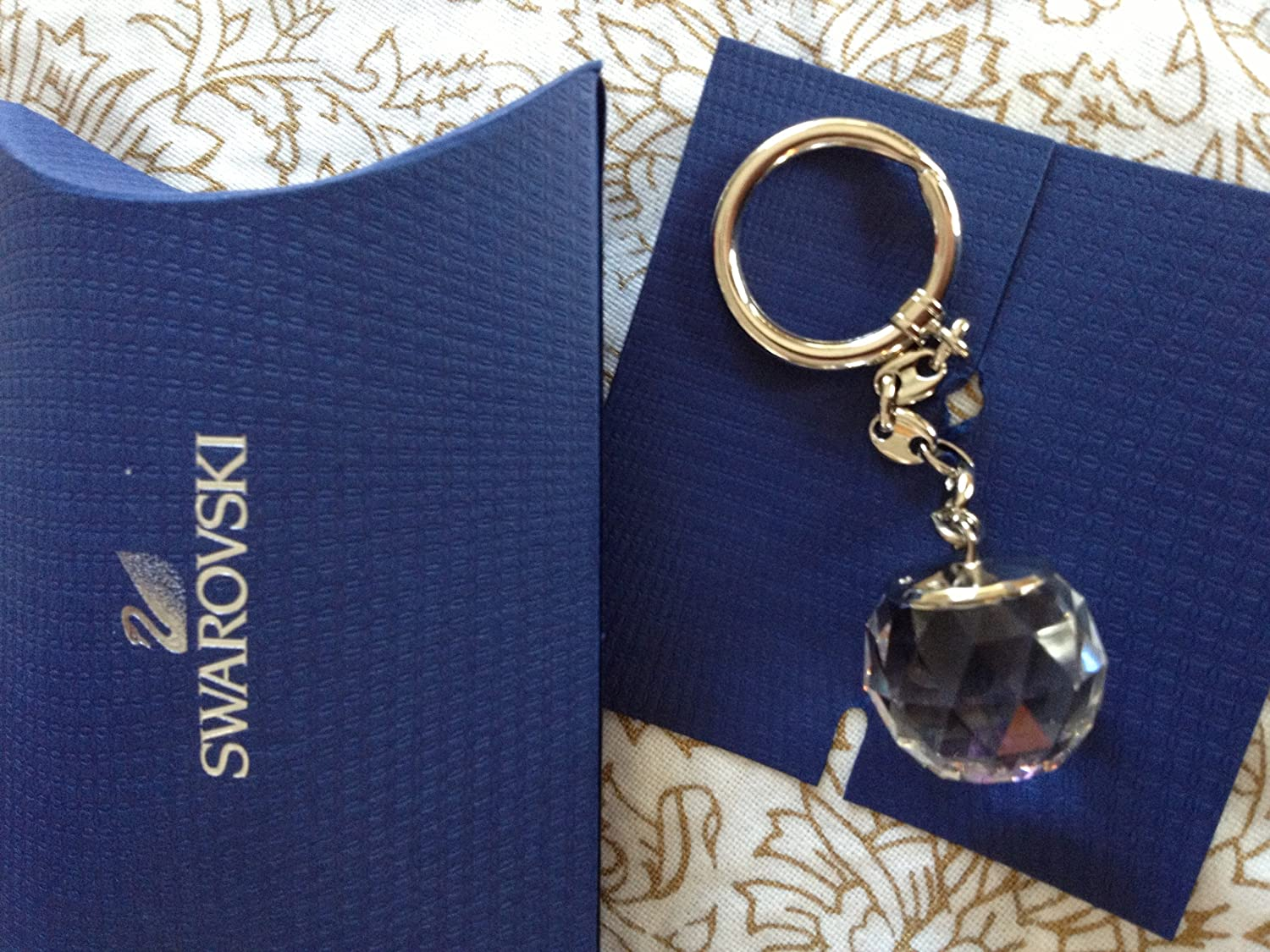 Swarovski Crystal Ball Key Ring  Amazon.co.uk  Office Products b0d3fcd01