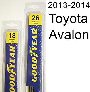 "product image for Toyota Avalon (2013-2014) Wiper Blade Kit - Set Includes 26"" (Driver Side), 18"" (Passenger Side) (2 Blades Total)"