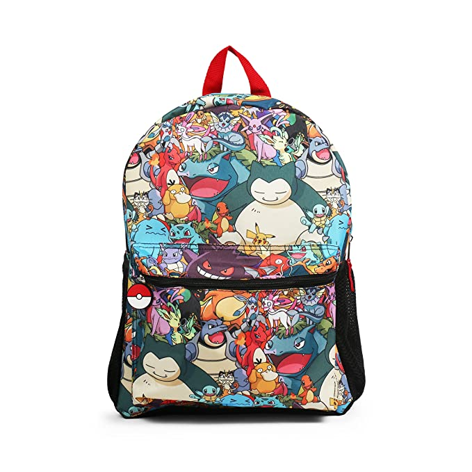 6b56c2bb468e JINX Minecraft Overworld Sprites Kids Backpack (Green 17
