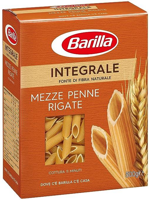 40 opinioni per Barilla- Integrale Mezze Penne Rigate- 6 pezzi da 500 g [3 kg]