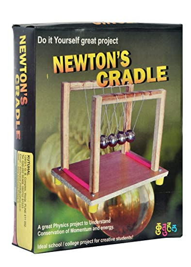 Buy make a newtons cradle kit do it yourself diy working make a newtons cradle kit do it yourself diy working model educational solutioingenieria Gallery