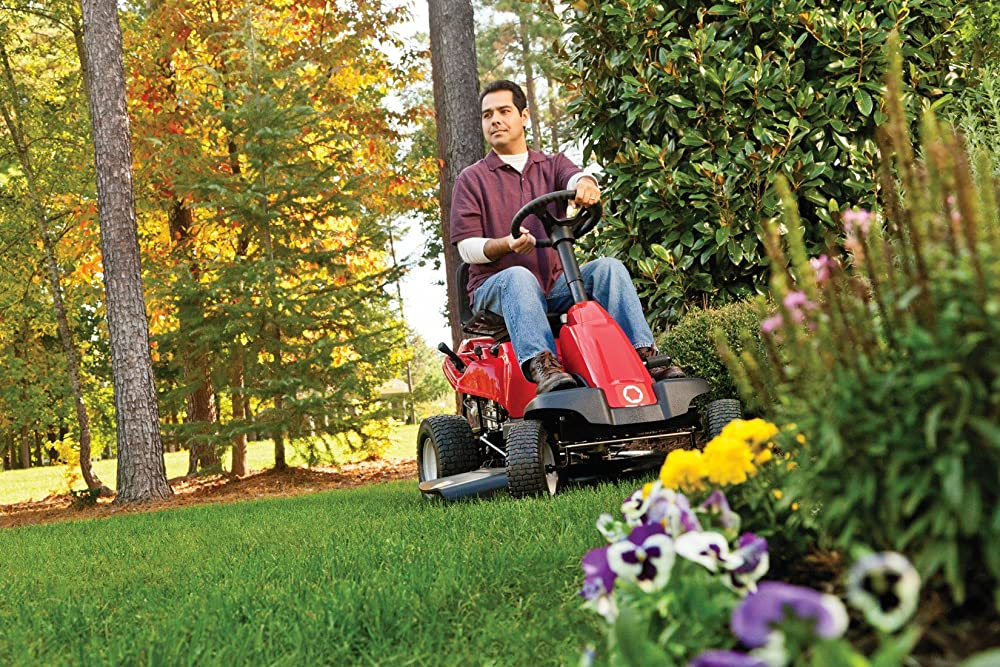 Riding Lawn Mower Backfires when Starting