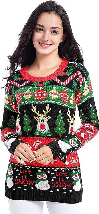vintage christmas reindeer sweater