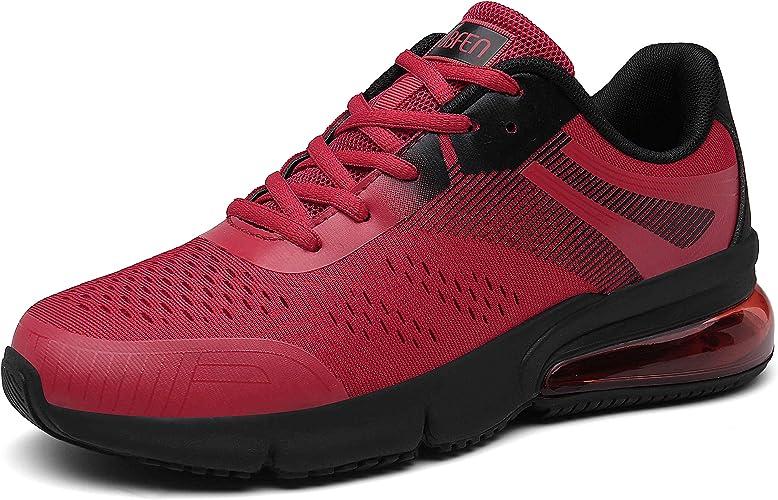 SOLLOMENSI Laufschuhe Damen Herren Straßenlaufschuhe Sportschuhe Turnschuhe Unisex Sneaker Leichte Schuhe