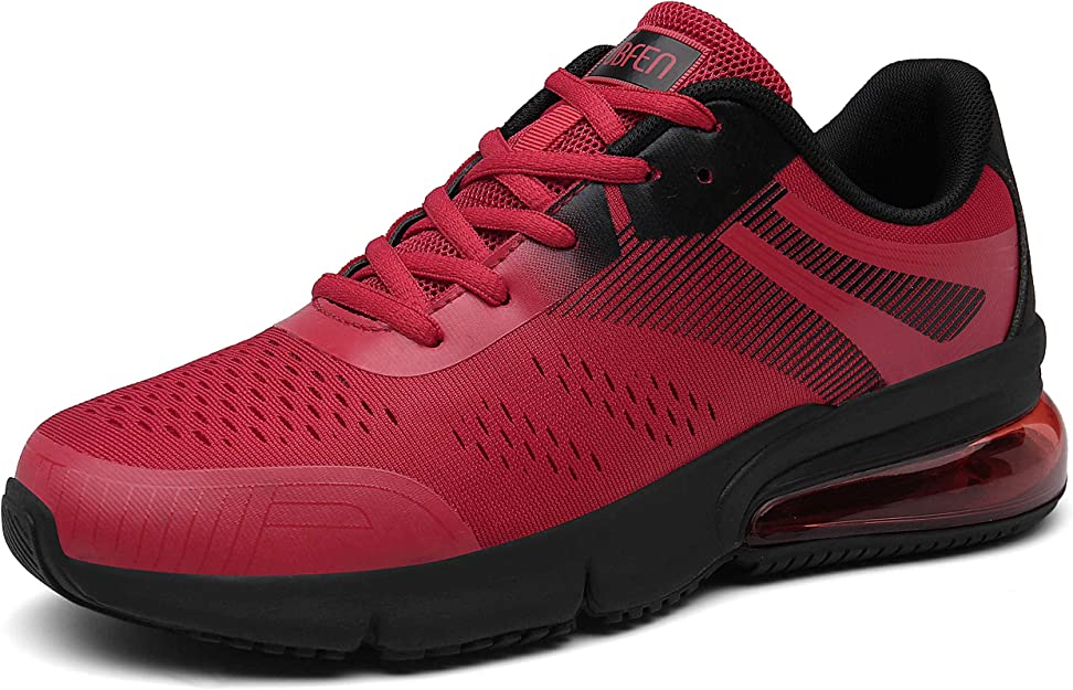 Sollomensi Sneakers Herren Damen Unisex Rot