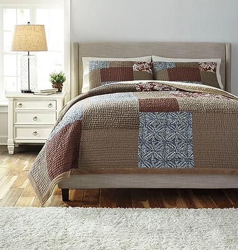Amazon Com Signature Design By Ashley Q452003q Comforter