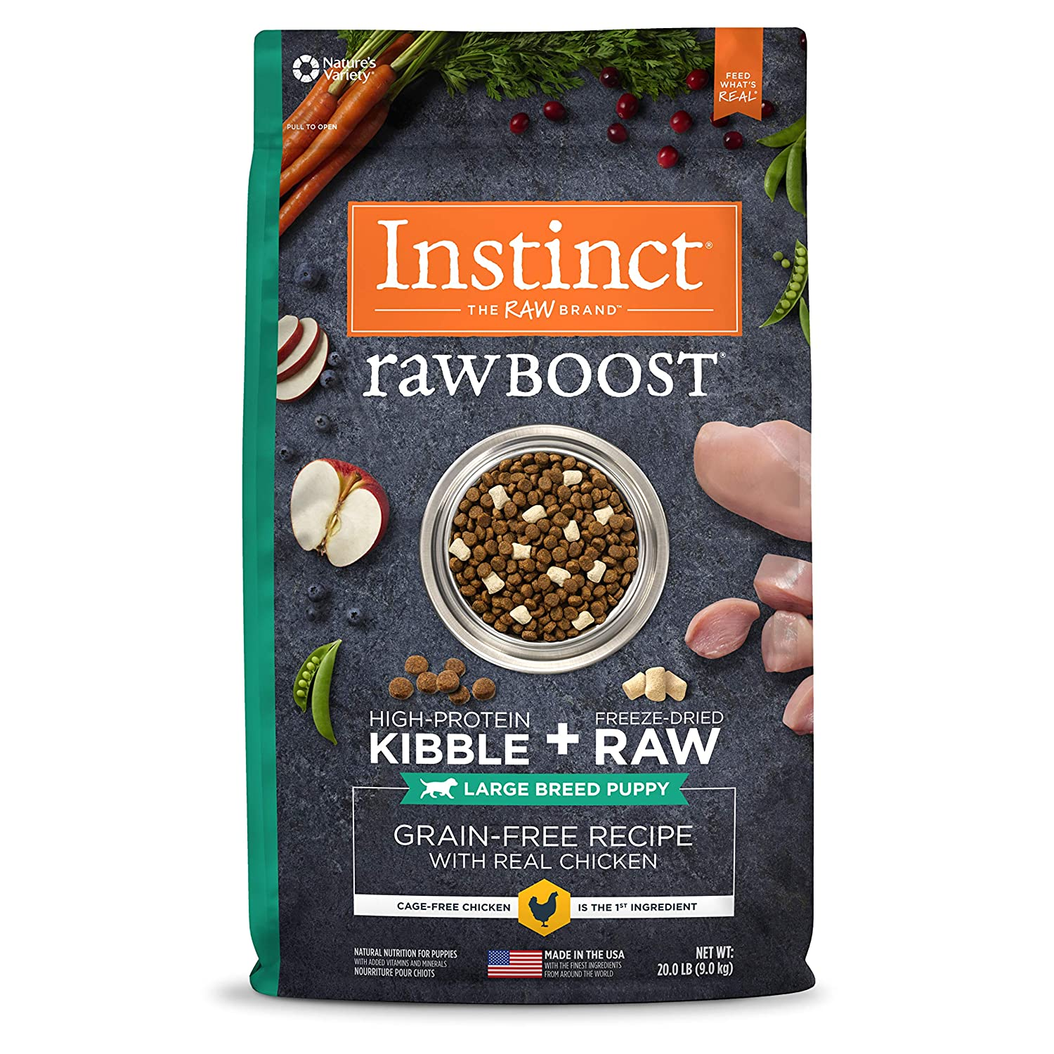 Instinct Puppy Grain-Free Recipe Natural Dry Dog Food