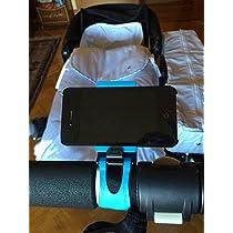 Soporte movil para carrito de bebe - Azul ...