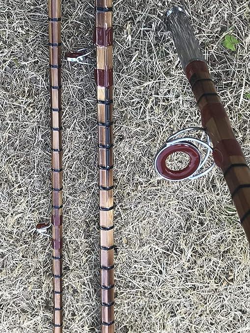 Nuevo Split bambú caña de spinning caña de pescar 11 , 3 piece ...