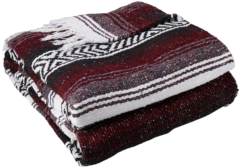 YogaDirect Deluxe Mexican Yoga Blanket