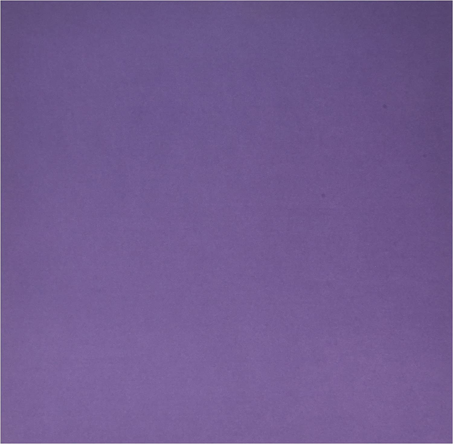 American Crafts 27109106 Smooth Cardstock 12X12-Plum 25 per Pack