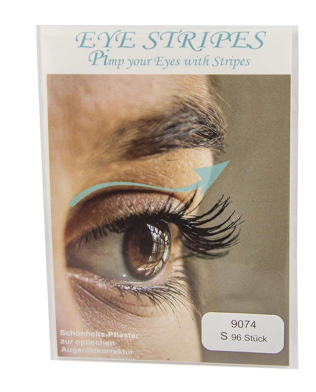 Cordoncino Lid Eye Stripes palpebra di tape (96 pezzi) Taglia S + L Kleeeblatt
