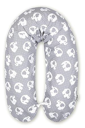 Bezug 170cm NEU Baby Stillkissen XXL Lagerungskissen Seitenschläferkissen inkl