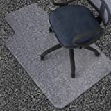 "Azadx 36"" X 48"" Clear PVC Carpet Chair Mat, Multitask Home /Office /Computer Chair Mats, Rug Protector Chair Mat"