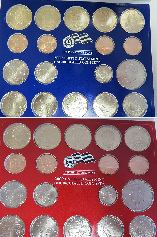 U09 2009 36-coin P /& D Uncirculated Set