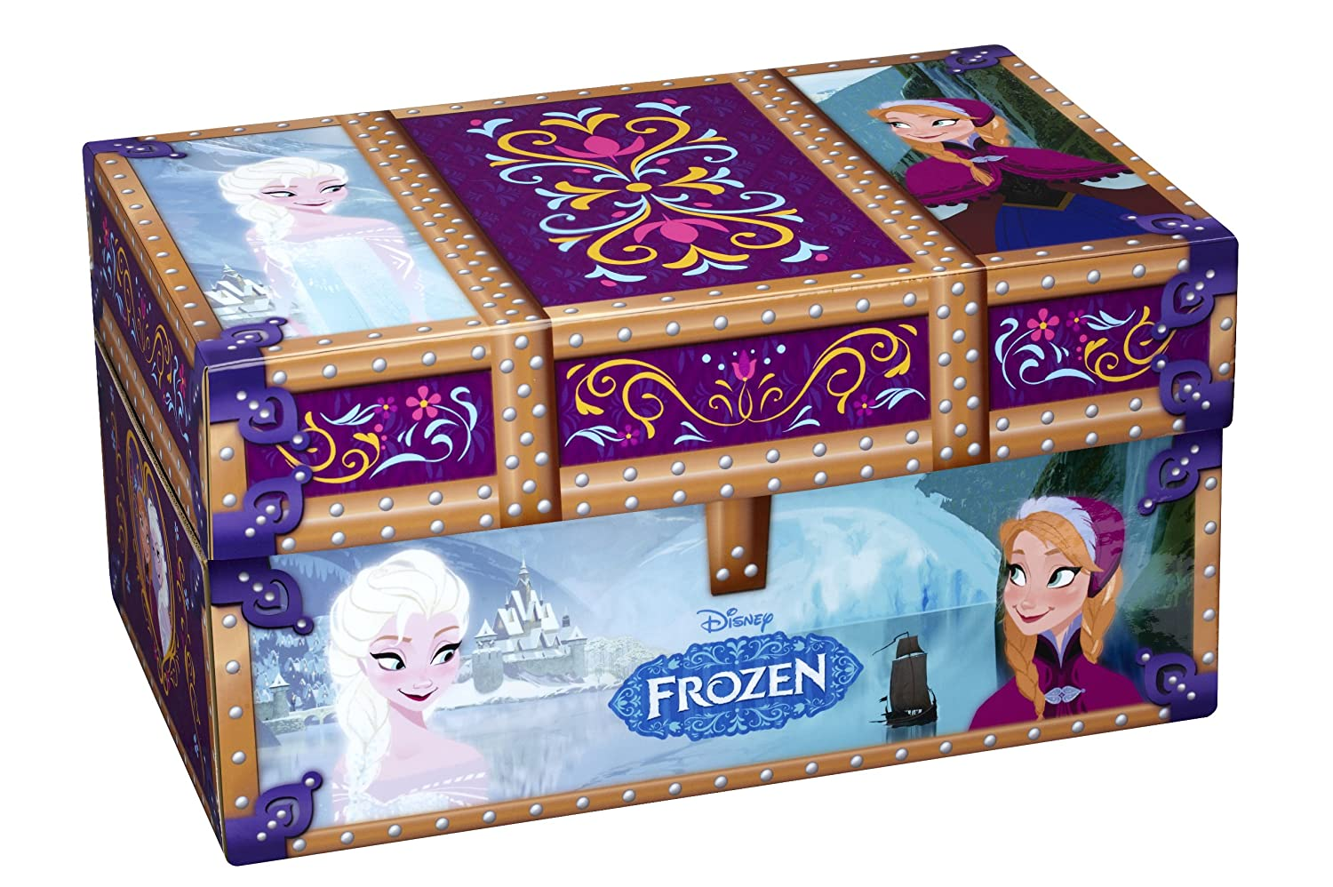 Amazon.com: Disney FROZEN Travel Dress Up Trunk: Toys &amp Games