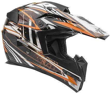 182d1a47 Vega Helmets MIGHTY X Kids Youth Dirt Bike Helmet – Motocross Full Face  Helmet for Off